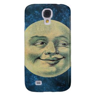 Caso del iPhone de la luna de Pâtisseries Poétique Funda Para Galaxy S4
