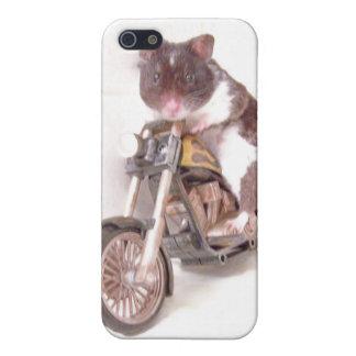 caso del iphone de la manía del motorista del háms iPhone 5 carcasa