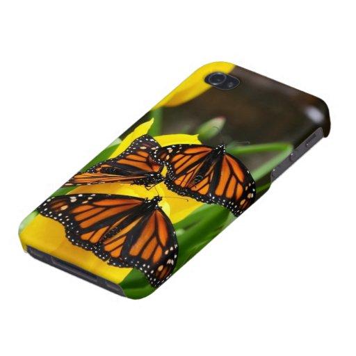 Caso del iPhone de la mariposa de monarca iPhone 4/4S Carcasa