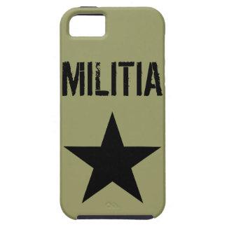 Caso del iPhone de la milicia iPhone 5 Funda