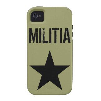 Caso del iPhone de la milicia iPhone 4/4S Funda