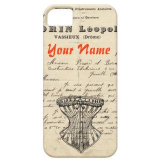 Caso del iPhone de la moda del francés del vintage iPhone 5 Case-Mate Coberturas