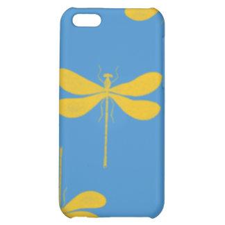 Caso del iphone de la mota de las libélulas