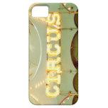 Caso del iPhone de la muestra del circo iPhone 5 Case-Mate Protector