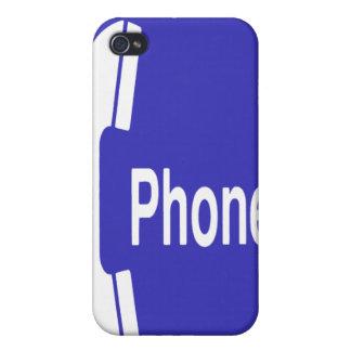 Caso del iPhone de la muestra del teléfono de pago iPhone 4 Coberturas