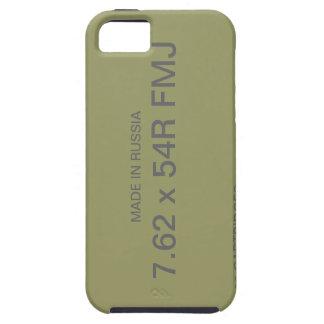 caso del iPhone de la MUNICIÓN de 7.62X54R FMJ iPhone 5 Fundas