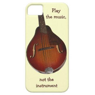 Caso del iPhone de la música de la mandolina iPhone 5 Carcasas