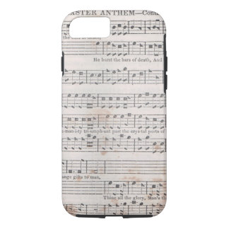 Caso del iPhone de la música de Shapenote Funda iPhone 7