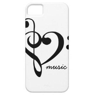 Caso del iPhone de la música Funda Para iPhone SE/5/5s