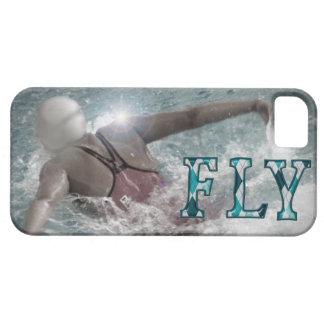 Caso del iPhone de la natación del movimiento de Funda Para iPhone 5 Barely There