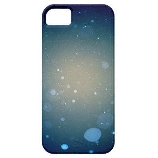 Caso del iPhone de la nieve de la noche que cae iPhone 5 Carcasa