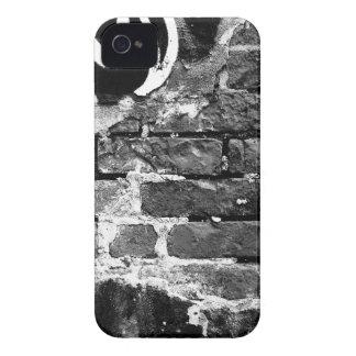 caso del iPhone de la pared de ladrillo iPhone 4 Case-Mate Cárcasa