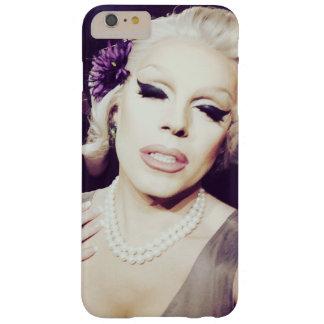 Caso del iPhone de la perla del diamante Funda Para iPhone 6 Plus Barely There