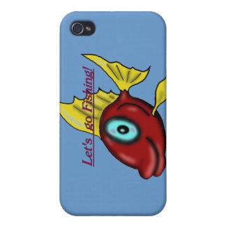 Caso del iphone de la pesca iPhone 4/4S carcasa