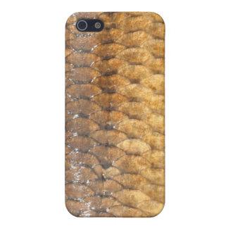 Caso del iPhone de la piel de la carpa iPhone 5 Fundas