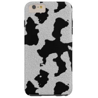 Caso del iPhone de la piel de la vaca Funda Para iPhone 6 Plus Tough
