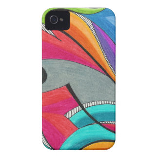 Caso del iPhone de la pintada (4/4s) iPhone 4 Case-Mate Cárcasa