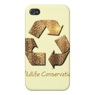 Caso del iPhone de la protección de la fauna iPhone 4 Cárcasa