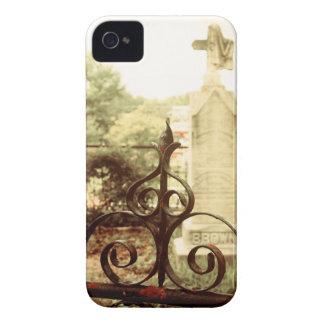 Caso del iPhone de la puerta del cementerio Carcasa Para iPhone 4