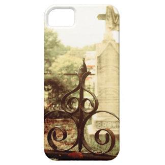 Caso del iPhone de la puerta del cementerio Funda Para iPhone SE/5/5s