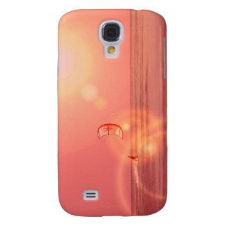 Caso del iPhone de la puesta del sol 3G de Kiteboa