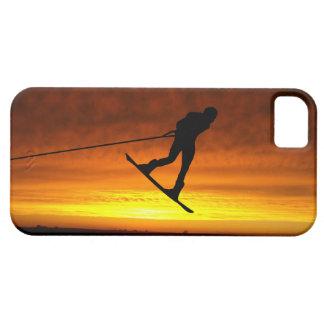 Caso del iPhone de la puesta del sol del iPhone 5 Funda