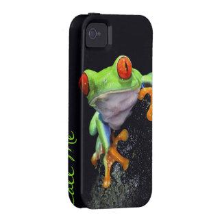 Caso del iPhone de la rana 3 iPhone 4/4S Carcasa