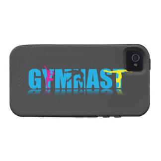 Caso del iPhone de la reflexión del gimnasta Vibe iPhone 4 Carcasa
