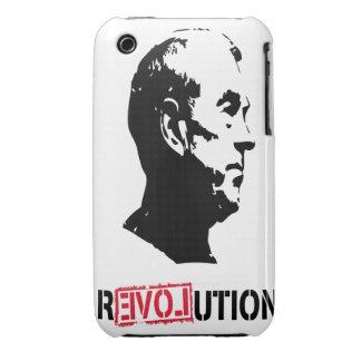 Caso del iphone de la revolución de Ron Paul iPhone 3 Case-Mate Coberturas