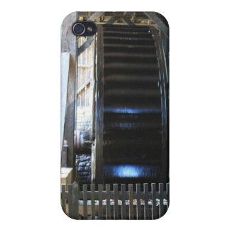 Caso del iPhone de la rueda de agua de la fundició iPhone 4 Carcasa