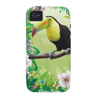 Caso del iPhone de la selva 2 iPhone 4 Funda