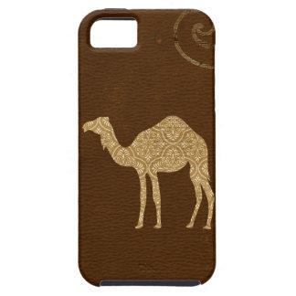 Caso del iPhone de la silueta del camello Funda Para iPhone 5 Tough