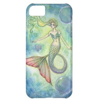 Caso del iPhone de la sirena de la galaxia del mar Funda Para iPhone 5C