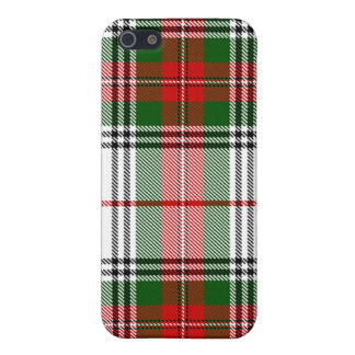 Caso del iPhone de la tela escocesa de tartán de S iPhone 5 Cárcasa