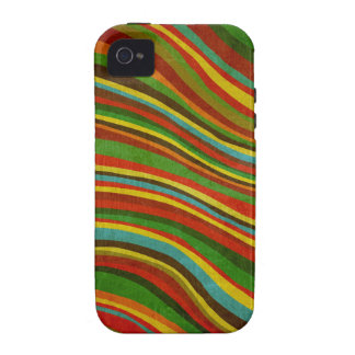 caso del iphone de la textura de la onda del vinta