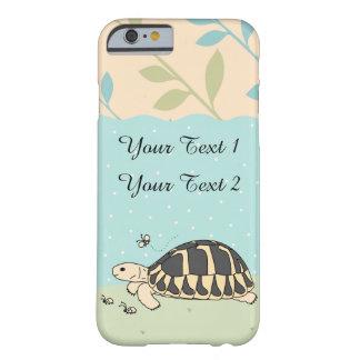 Caso del iPhone de la tortuga de Hermann adaptable Funda Barely There iPhone 6