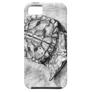 Caso del iPhone de la tortuga de Matamata Funda Para iPhone SE/5/5s