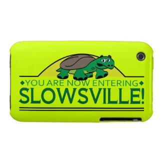 Caso del iPhone de la tortuga de Slowsville Case-Mate iPhone 3 Protector