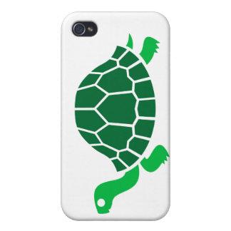 Caso del iphone de la tortuga iPhone 4/4S fundas