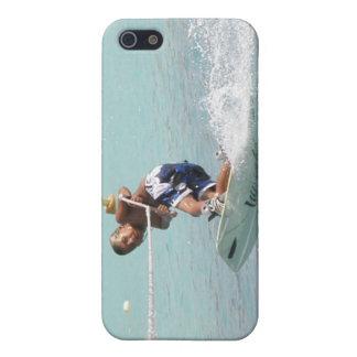 Caso del iPhone de la vuelta de Wakeboarding iPhone 5 Fundas