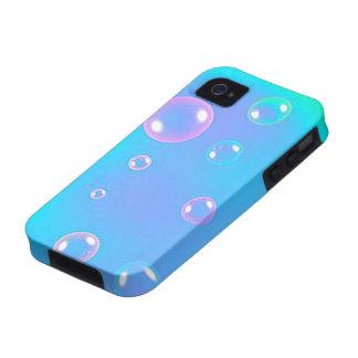 Caso del iphone de las burbujas iPhone 4 carcasas