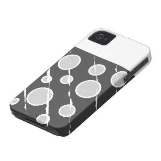 Caso del iphone de las burbujas Case-Mate iPhone 4 cárcasas