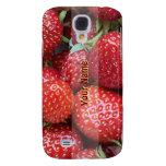 Caso del iPhone de las fresas
