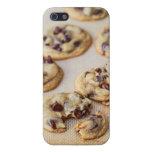 Caso del iPhone de las galletas de microprocesador iPhone 5 Funda
