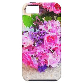 Caso del iPhone de las lilas y de los rosas Funda Para iPhone 5 Tough