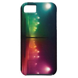 Caso del iPhone de las luces de calle del arco iPhone 5 Funda