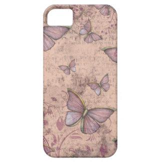 Caso del iPhone de las mariposas del Grunge del iPhone 5 Case-Mate Protector