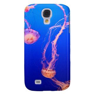 Caso del iPhone de las medusas Funda Para Galaxy S4