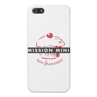 Caso del iPhone de las miniaturas de la misión iPhone 5 Protector
