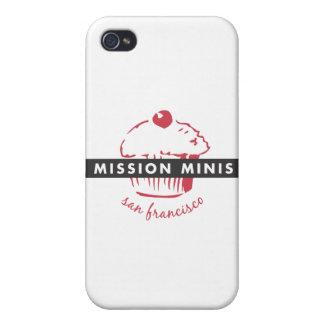 Caso del iPhone de las miniaturas de la misión iPhone 4/4S Fundas